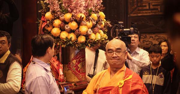 住持法師在媽祖出、入廟時是在念什麼? - OA Wu's Blog