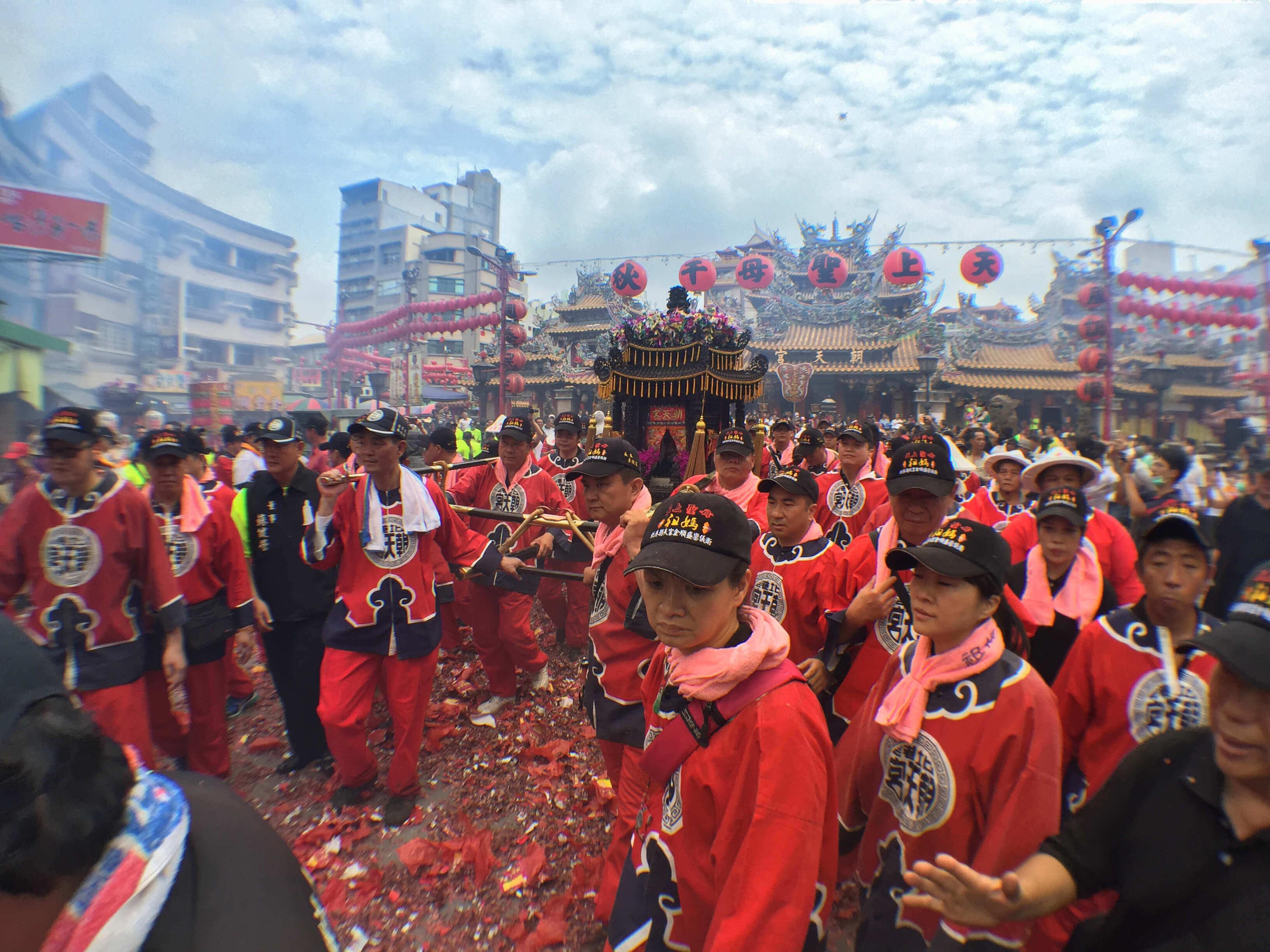 2015年 祖媽 金順盛 轎班會 農曆三月十九 起馬(吳政賢 攝)