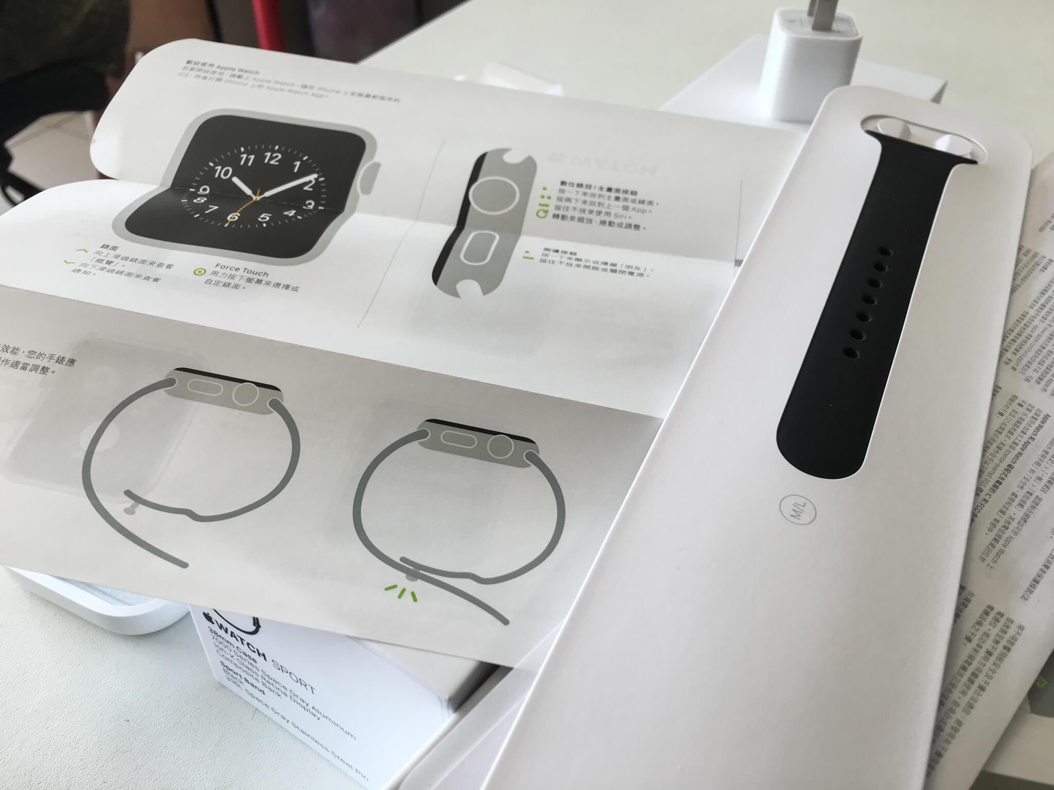 幸好有配與一條較長的錶帶,真是照服我們胖子