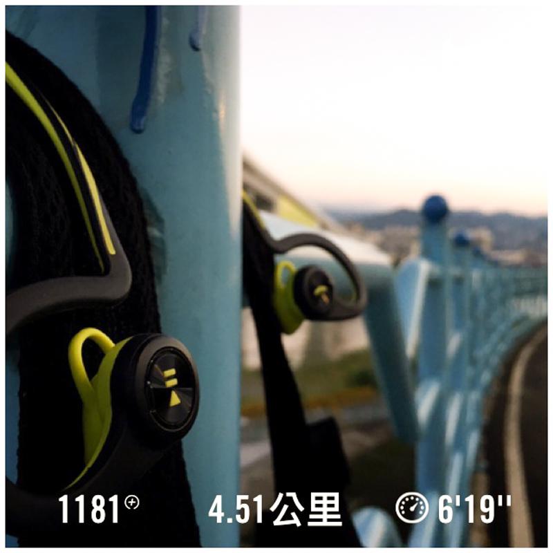 跑完 4.5 公里