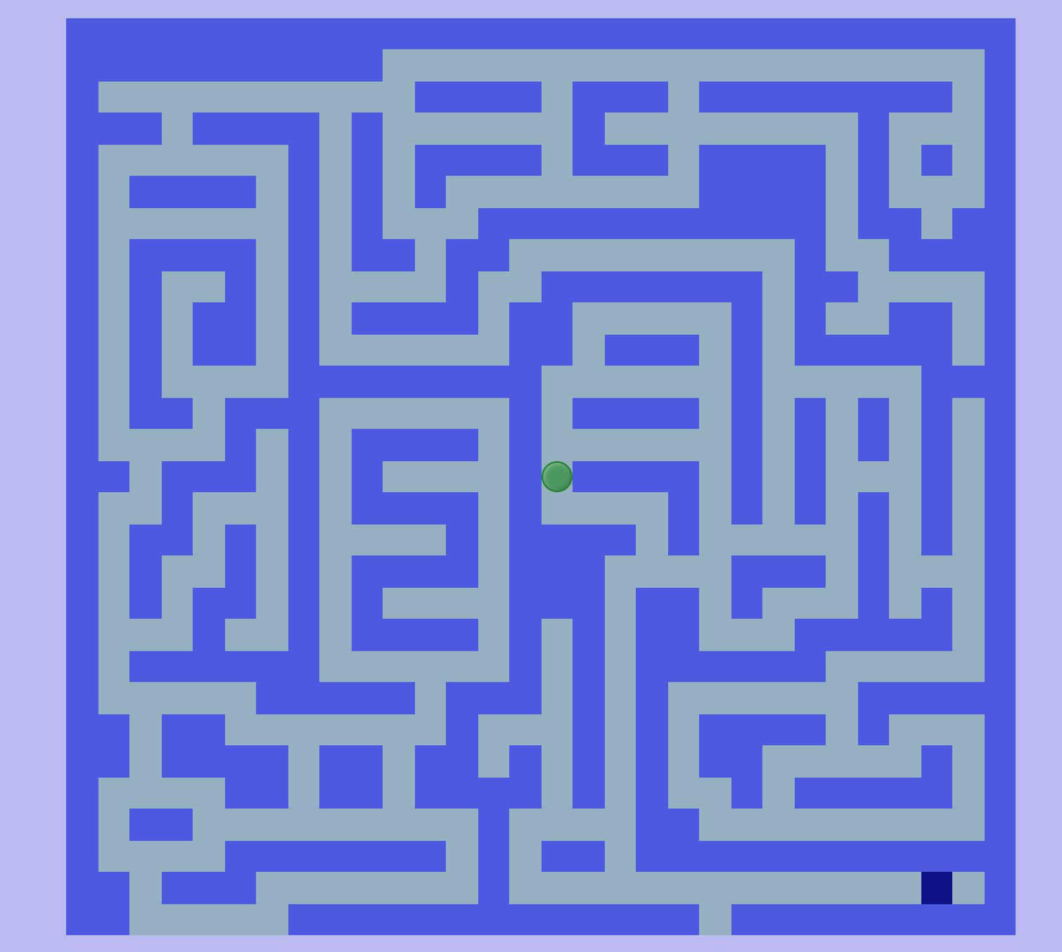 迷宮還有另外一項隱藏視角,就是當 Git 切換到 3D Branch 時,即可檢視 3D 介面的迷宮模式,此項是利用 css 的旋轉(transform、rotateX、rotateY、translateZ),將原本的每個節點元素各自新增出六個元素充當六個面,再分別調整每個元素內的各個面旋轉、位移角度