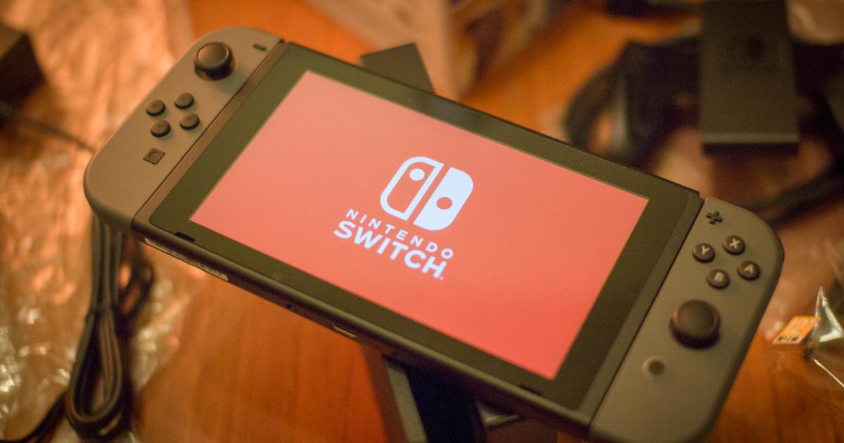 這次要開箱的是 Nintendo Switch