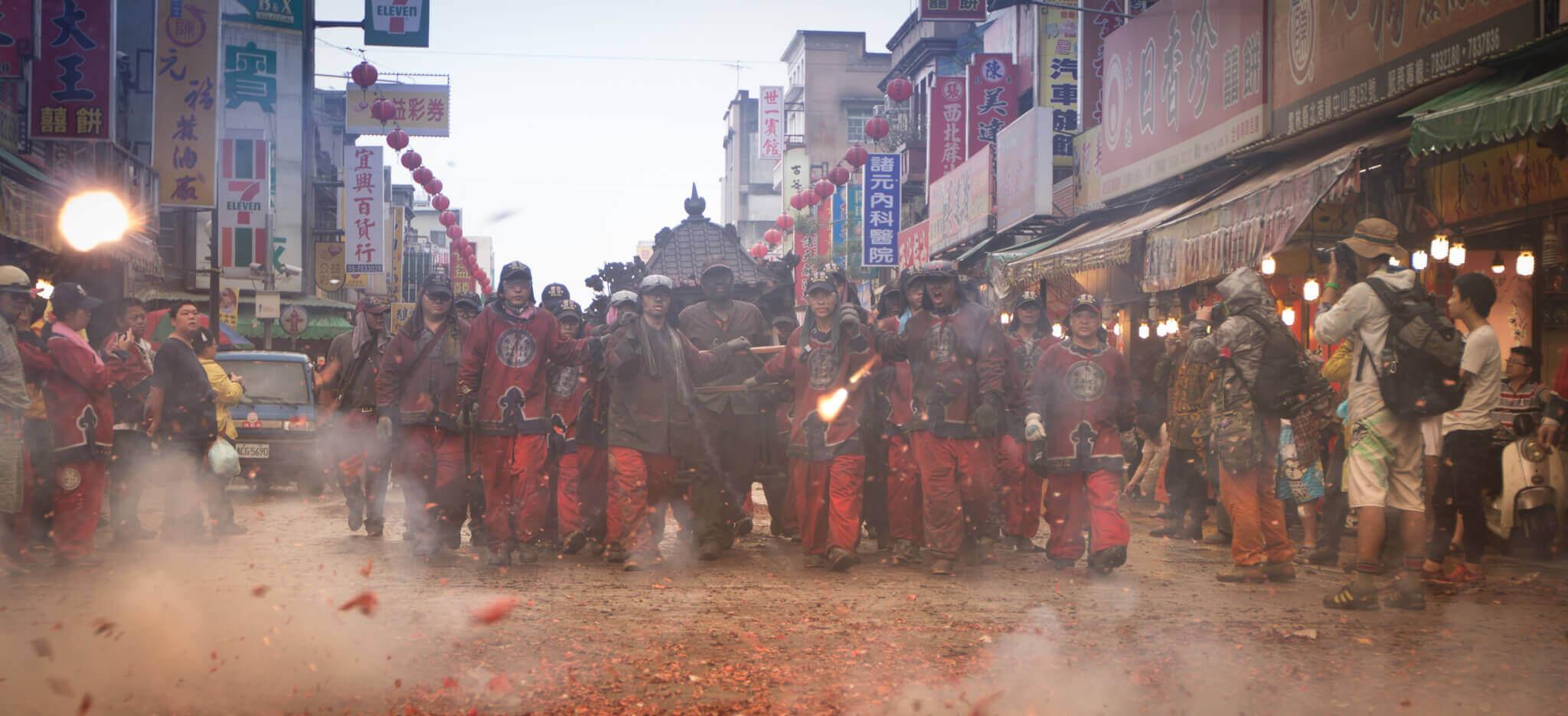 2016 年金福綏土地公入廟(吳政賢 攝)
